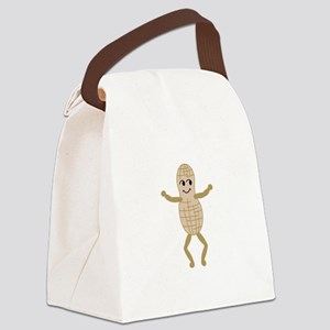 Peanut Canvas Lunch Bag