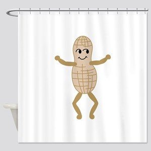 Peanut Shower Curtain