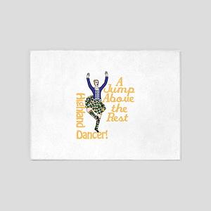 Highland Dancer 5'x7'Area Rug