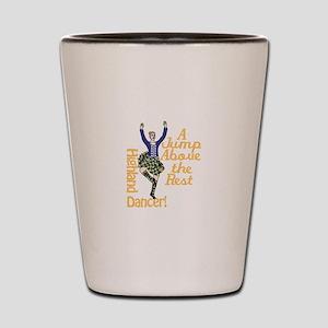 Highland Dancer Shot Glass