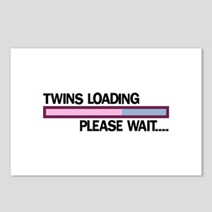 Twins Loading Please Wait... Postcards (Package of