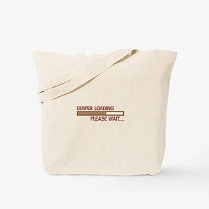 Diaper Loading Please Wait.... Tote Bag