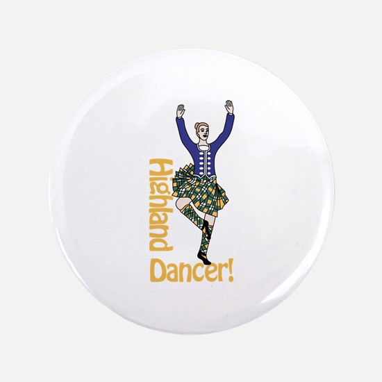 Highland Dancer Button
