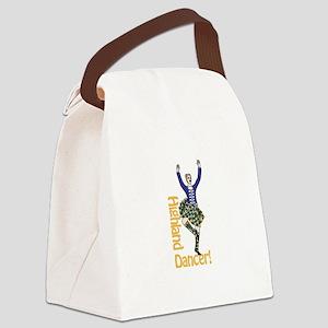 Highland Dancer Canvas Lunch Bag