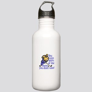 100% Of The Shots Water Bottle