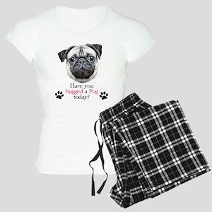 Pug Hug Women's Light Pajamas