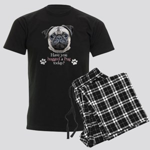 Pug Hug Men's Dark Pajamas