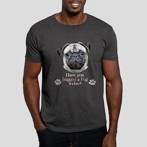 Pug Hug Dark T-Shirt
