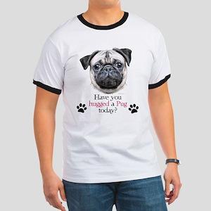 Pug Hug Ringer T