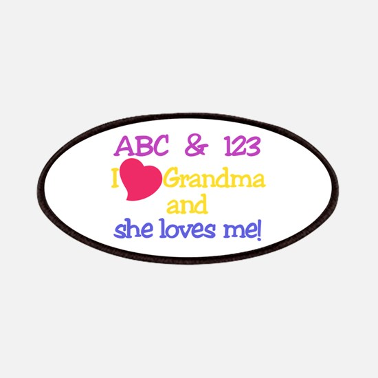 Grandma And She Loves Me! Patch