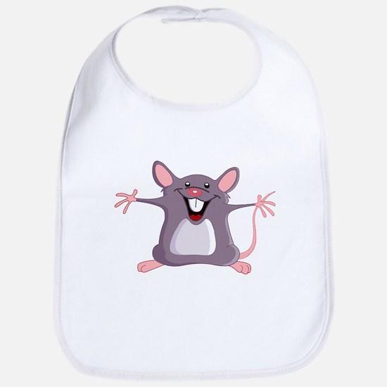 Happy Greeter Mouse Bib