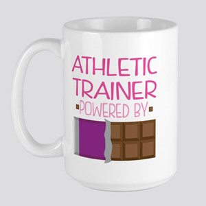 athletic trainer Large Mug