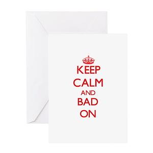 Bad news greeting cards cafepress m4hsunfo