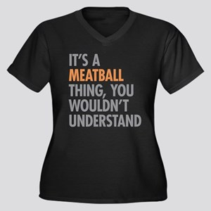 Meatball Thing Plus Size T-Shirt