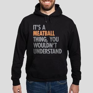 Meatball Thing Hoodie (dark)