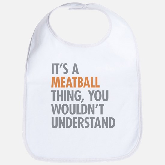 Meatball Thing Bib