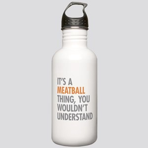 Meatball Thing Stainless Water Bottle 1.0L