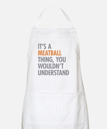 Meatball Thing Apron