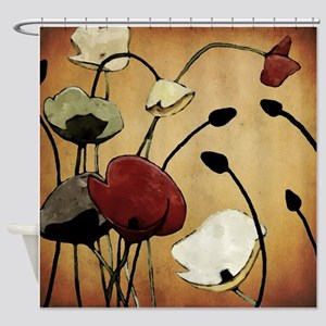 Wildflower Shower Curtains