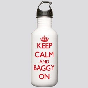 Keep Calm and Baggy ON Stainless Water Bottle 1.0L