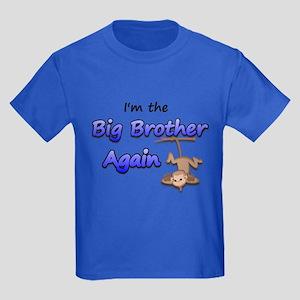 Hanging monkey Big Brother ag Kids Dark T-Shirt