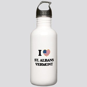 I love St. Albans Verm Stainless Water Bottle 1.0L
