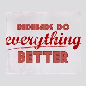 Redheads Throw Blanket