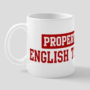 Property of English Toy Spani Mug