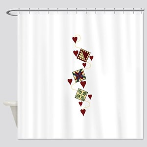 Quilting Design Shower Curtain