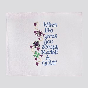 Make A Quilt Throw Blanket