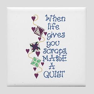 Make A Quilt Tile Coaster