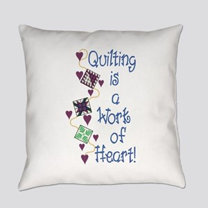 Work Of Heart Everyday Pillow