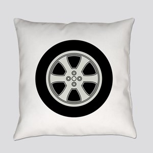 Wheel Everyday Pillow