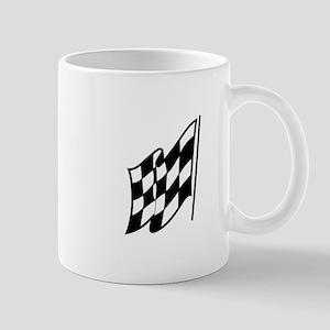 Checkered Racing Flag Mugs