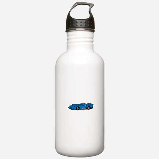 Race Car Water Bottle