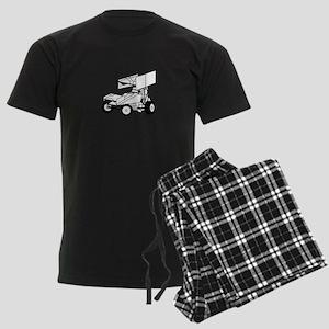 Sprint Car Outline Pajamas