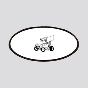 Sprint Car Outline Patch