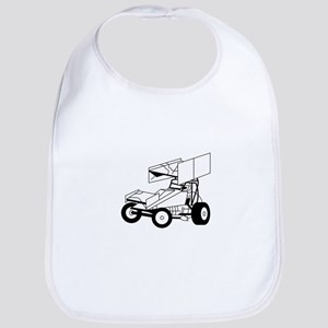Sprint Car Outline Bib