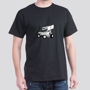 Sprint Car Outline T-Shirt