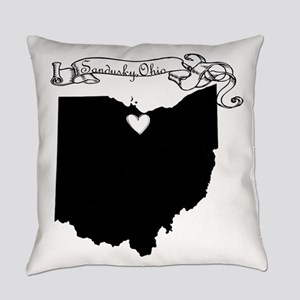 Sandusky Ohio Everyday Pillow