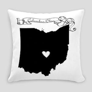 Columbus Ohio Everyday Pillow