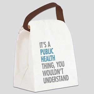Public Health Thing Canvas Lunch Bag