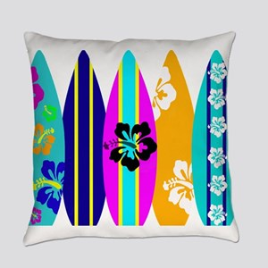 Surfboards Everyday Pillow