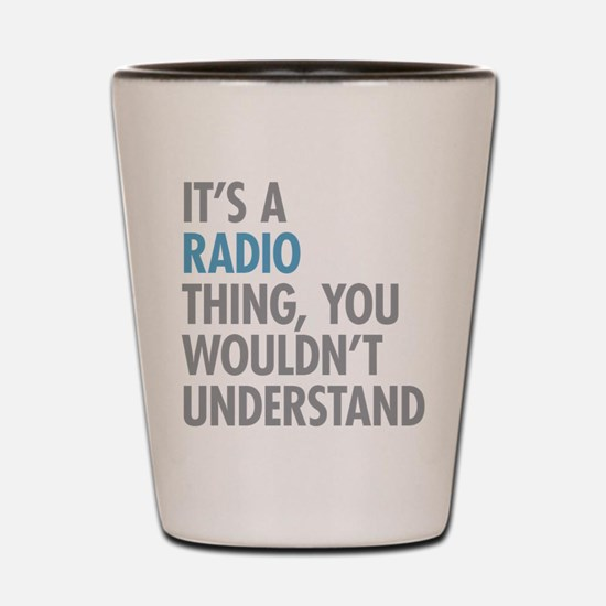 Radio Thing Shot Glass