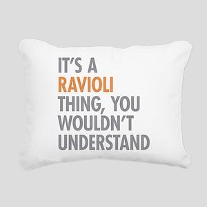 Ravioli Thing Rectangular Canvas Pillow