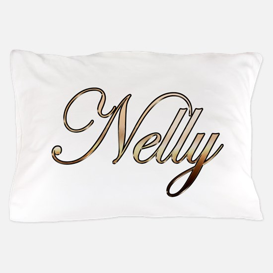 Gold Nelly Pillow Case