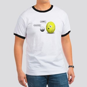 YELLOW FEVER-TENNIS BALL. ACNE-GOLF BALL T-Shirt
