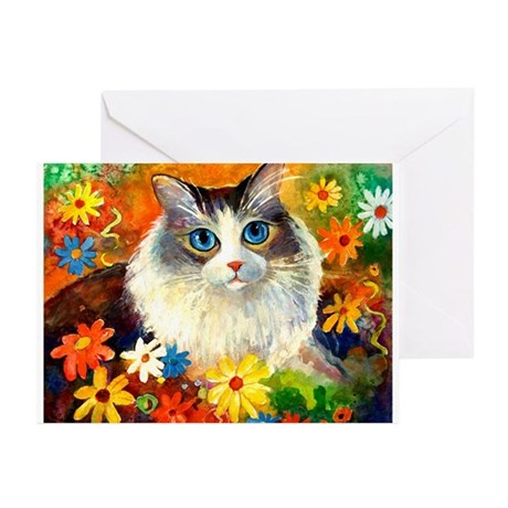 Tabby kitty Greeting Cards (Pk of 10)
