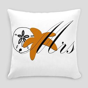 Sand Dollar Starfish Mrs Everyday Pillow