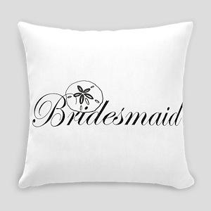 Sand Dollar Bridesmaid Everyday Pillow